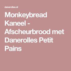Monkeybread Kaneel - Afscheurbrood met Danerolles Petit Pains