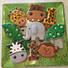 Safari Theme Birthday, Boys First Birthday Party Ideas, Wild One Birthday Party, Safari Birthday Party, Animal Birthday, Baby First Birthday, Boy Birthday Parties, Jungle Party, Party Decoration