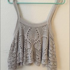 "Spotted while shopping on Poshmark: ""Free People Crochet Top""! #poshmark #fashion #shopping #style #Free People #Tops"