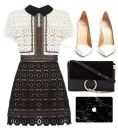 Monotone Shabby Chic When dressing for formal work events, black and white is a good base colour scheme to go with as you can play it safe. Teen Fashion, Korean Fashion, Fashion Outfits, Womens Fashion, Fashion Trends, Classy Outfits, Stylish Outfits, Cute Outfits, Mode Ootd