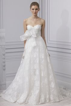 Lace Wedding Dress  Monique Lhuillier 2013 Collection