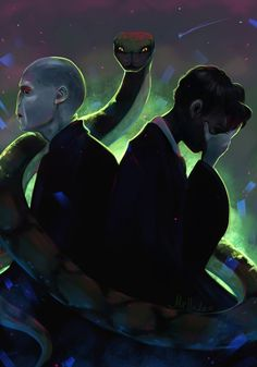 Tom Riddle by Mellodee