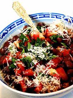 Recipe: Basil Parmesan Pot Beans