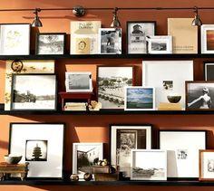 Picture Ledge Shelves Pottery Barn