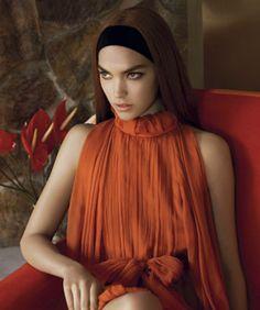 Alberta Ferretti's Fall 2011 Ad Campaign