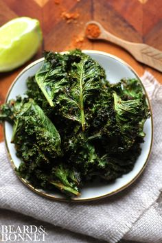 Make the perfect kale chips. Vegan, gluten free and delicious.