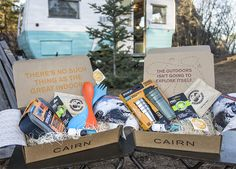 Cairn inspires and equips outdoor enthusiasts through a monthly subscription box of carefully curated products that cater to an outdoor lifestyle.