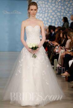Oscar De La Renta Spring 2014 | Wedding Dresses Style | Brides.com