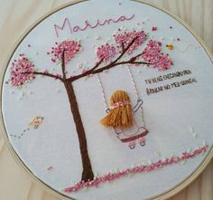 Hand Embroidery Videos, Embroidery Stitches Tutorial, Flower Embroidery Designs, Embroidery Hoop Art, Machine Embroidery Designs, Embroidery Patterns, Denim Crafts, Bff Gifts, Fabric Art