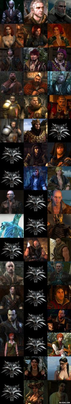 How characters from Witcher changed