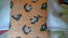 Hand-made Disney's The Jungle Book throw by MawmaRosesCrafts