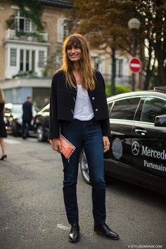 oh speaking of cool... #CarolineDeMaigret casually killing it in Paris. brilliant.