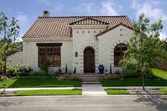 Spanish Colonial Luxury Patio Home - mediterranean - Exterior - Dallas - Holmes Builders