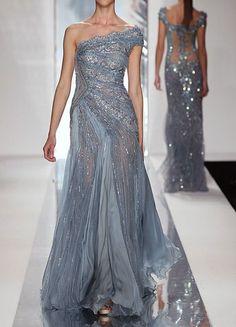 grey dress - fashforfashion -♛ STYLE INSPIRATIONS♛: designer dress