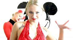 Sonya & Bronya / tape art / Mickey Mouse