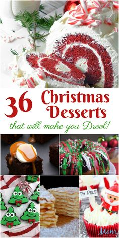 36 Christmas Desserts that will make you Drool #ChristmasSweets