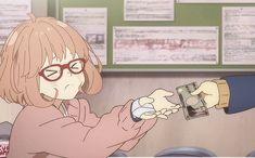 Read Kyoukai no Kanata: Sleepover! Fanfic - sHOULD I CONTINUE THIS?????? - Wattpad