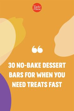 No oven? No problem. Try our no-bake bar recipes. Popcorn Recipes, Bar Recipes, Dessert Recipes, Peanut Butter Oatmeal Bars, Butter Popcorn, Layered Desserts, Summer Desserts, Ice Cream Desserts, No Bake Desserts