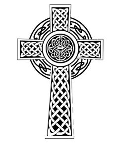 Celtic Cross Tattoo Design Religious Knot Chain  Just Free Image