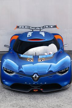 What would you give to try out this Renault Alpine?