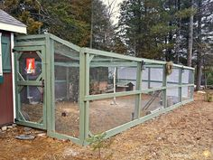 Walk through how we built our new chicken run step by step to keep our chickens safe from predators during the day.