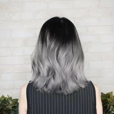 33 trendy ombre hair color ideas of 2019 - Hairstyles Trends Pretty Hair Color, Hair Color Purple, Hair Dye Colors, Hair Color For Black Hair, Hair Color Streaks, Short Brown Hair, Aesthetic Hair, Purple Aesthetic, Balayage Hair