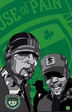 House Of Pain Rap, Graffiti Tagging, Irish American, Hip Hop Art, Poster Pictures, Grown Man, House Of Cards, Band Posters, Music Bands
