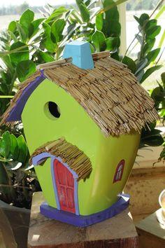 taylor unique designs lime green birdhouse