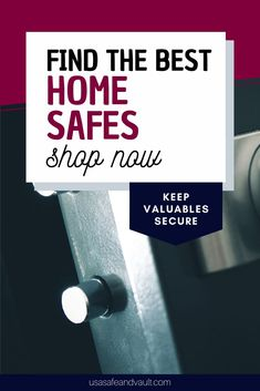 Struggling to find a good home safe for all of your valuables? At USA Safe and Vaults we have an enormous catalogue of different home safes and vaults. We provide you with the best innovative ideas, so that you can keep your safe hidden from any unwanted intruders. We provide free shipping, the best customer service and guarantee low prices on all our home safes and vaults. Shop now at www.usasafeandvault.com, so you can discover the best safe for you. Best Home Safe, Best Safes, Safe Shop, Innovative Ideas, Home Safes, Good Customer Service, Door Handles, Shop Now, Good Things