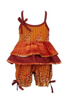 Ootsey Cutesy Price: Product Code:SS-IP- Description: Ootsey Cutsey is just that, too cute. This is a 2 peice summer top and shorts set with lovely detailing. Made with cotton in mixed African prints. African Dresses For Kids, African Children, African Print Dresses, African Print Fashion, African Fashion Dresses, African Women, African Prints, African Attire, African Wear