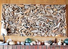 Got driftwood -Lots of it? http://www.completely-coastal.com/2011/09/large-drift-wood-wall-art-go-collage-or.html