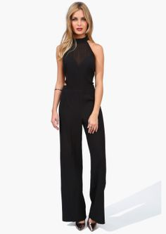 A sexy and classic jumpsuit!