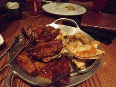 Wings & Pork Dumplings at Ohana in Disney's Polynesian Resort.