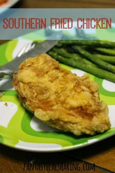 Southern Fried Chicken | Simple ingredients, but an amazing #recipe