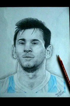 #MESSI #DRAWING #ARGENTINA #BARCELONA #PAINTING #ART