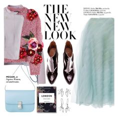 The new look by punnky on Polyvore featuring polyvore fashion style Dolce&Gabbana Carolina Herrera clothing