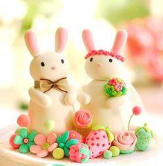 Marzipan bunnies. :)