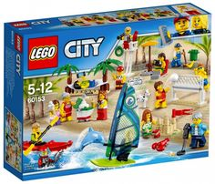 LEGO City 60153 People Pack - Fun at the beach Juin 2017