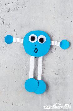 Shape Buddies Craft for Preschoolers