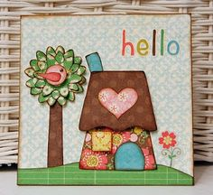 Welcome to the Glue Arts {Blog Hop}!!!from {Crafting Life} Blog