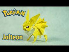 POKEMON - Origami Jolteon Tutorial (Henry Phạm) - YouTube