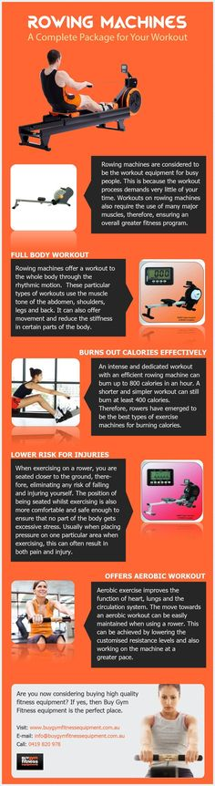 61 best rowing images on pinterest rowing machines exercises and gym fitness equipment australia rowing machines a full workout package rowing machines a type of gym equipment in australia that assists in the fandeluxe Image collections
