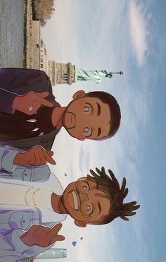 Killmonger & T'challa || Black Panther || Cr: 악게