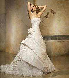 AN IDEA FOR MY WIFE Beautiful Pronovias Wedding Gown
