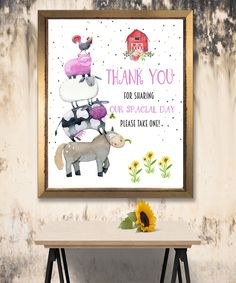Farm Animals Sign, Birthday banner, Funny Banner, Farm Animals Banner , Animals banner Farm Birthday, Farm Animals, Banner, Sign, Frame, Funny, Handmade Gifts, Etsy, Vintage