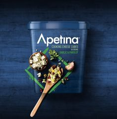 Apetina Cooks Up a Storm in the Dairy Category — The Dieline | Packaging & Branding Design & Innovation News