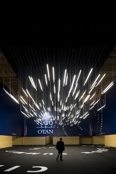 NATO SUMMIT LISBON by P-06 atelier, via Behance