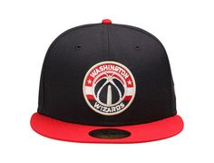 Washington Wizards Current Logo 59Fifty Fitted Baseball Cap by NEW ERA x NBA
