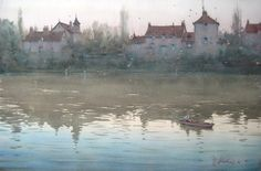 Joseph Zbukvic (watercolor painting)