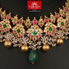 Heritage Guttapusalu set in Mozanites Gold Jewellery Design, Bead Jewellery, Gold Jewelry, Antique Jewellery, Jewelry Necklaces, Hair Jewellery, Gold Bangles, Diamond Jewelry, Jewelry Box